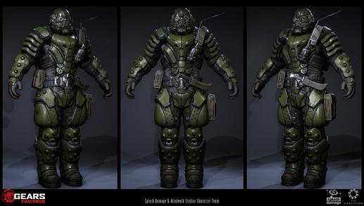 Gears Tactics UIR armor