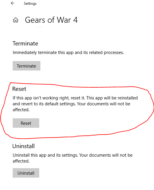 SOLVED!] Gears of War 4 PC crashes on boot - Gears 4 - Gears Forums