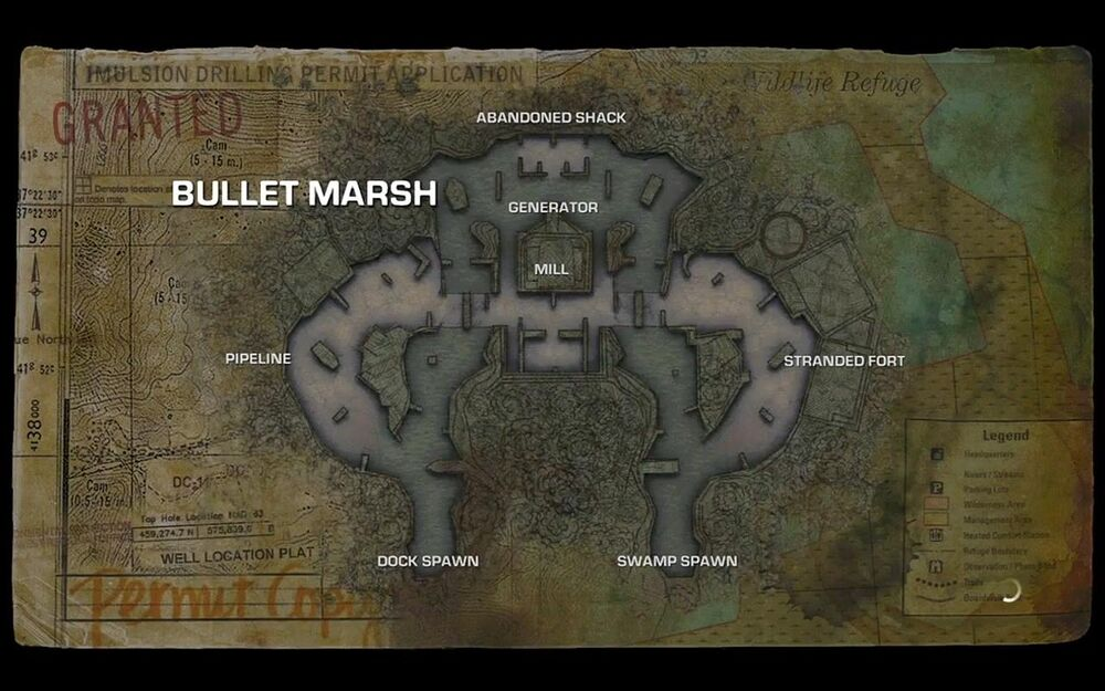bullet marsh