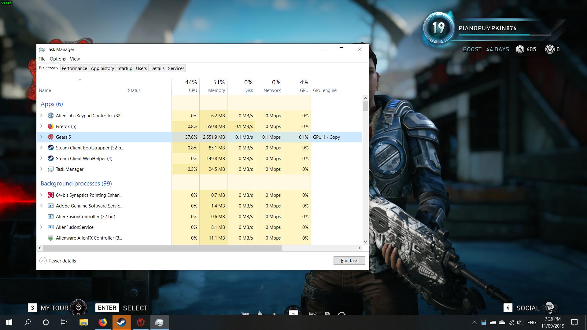 Low GPU usage Gears 5 Stuttering GTX 1070 [FIX] - Gears 5