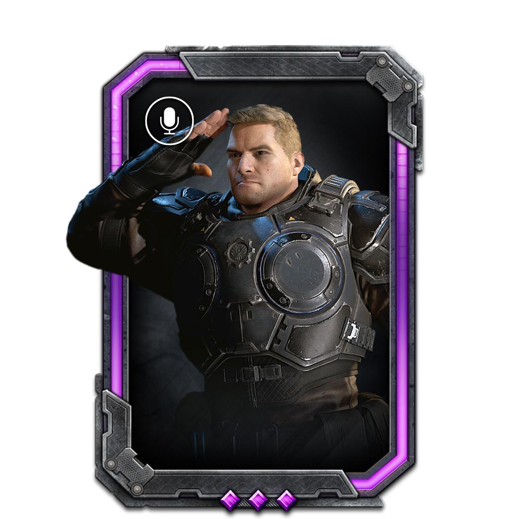 Card: JD salutes