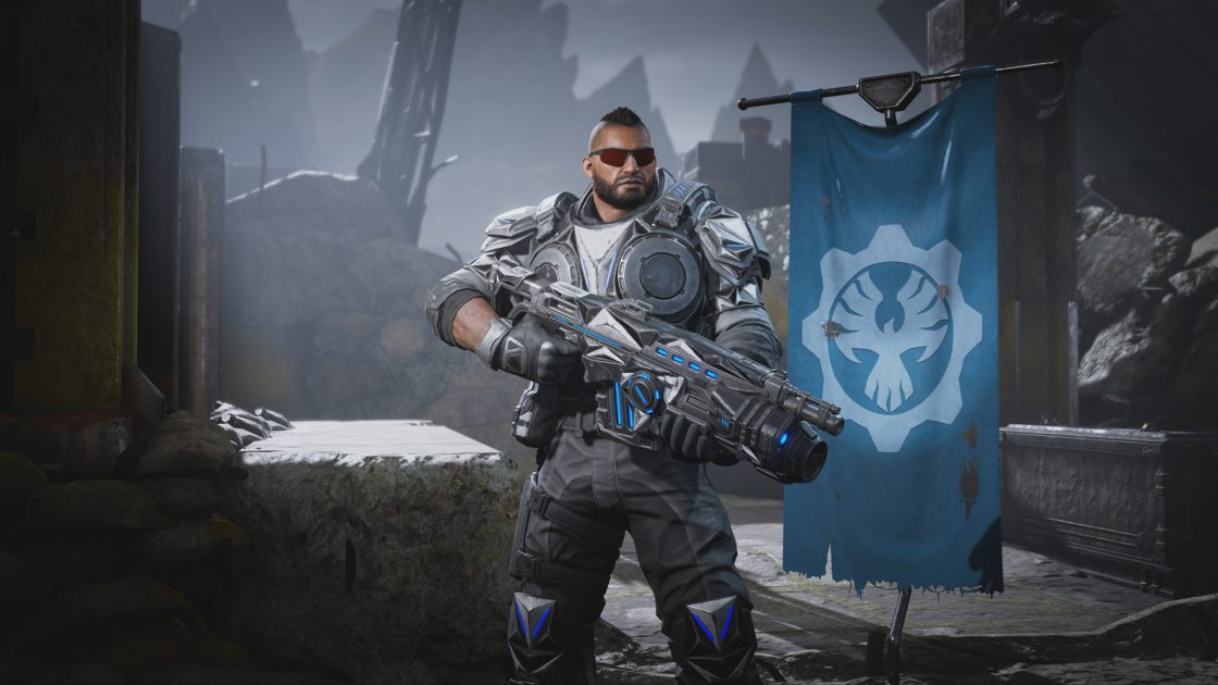 Chrome Steel Fahz holding a Chrome Steel Lancer GL